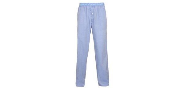 Pánske svetlo modré pyžamové nohavice Beverly Hills Polo Club