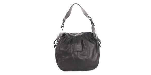 Dámska čierna kožená kabelka Gianfranco Ferré