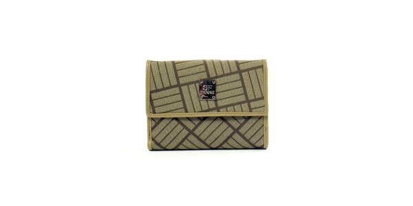 Dámska zelená peňaženka Gianfranco Ferré