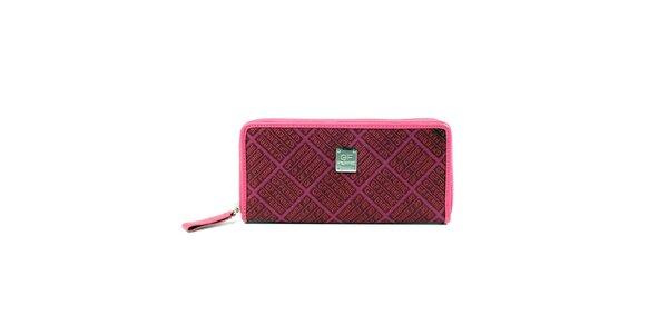Dámska ružová podlhovastá peňaženka Gianfranco Ferré