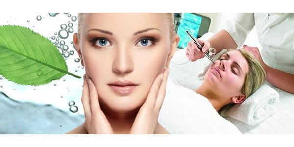 Oxygenoterapia tváre so špeciálnym sérom a hydratáciou