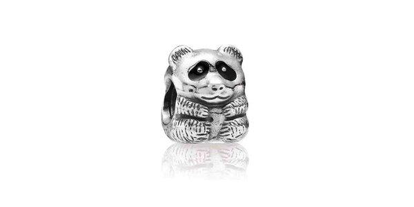 Strieborný prívesok Pandora melancholická panda