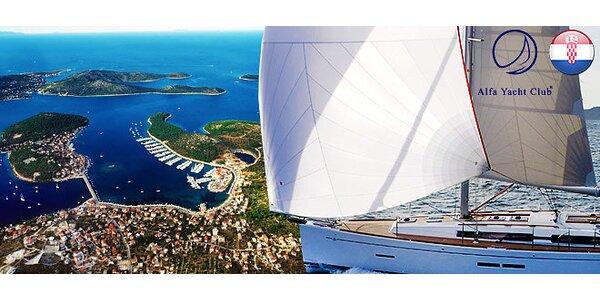 Týždeň na jachte na Jadrane - možnosť kapitánskych skúšok