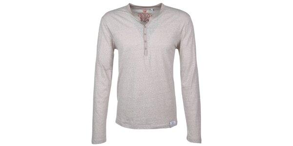 Pánske šedobiele tričko Urban Surface