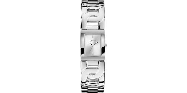 Dámske oceľové náramkové hodinky Guess
