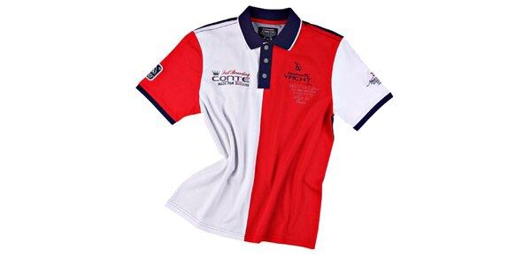 Pánske polo tričko v národných farbách M. Conte