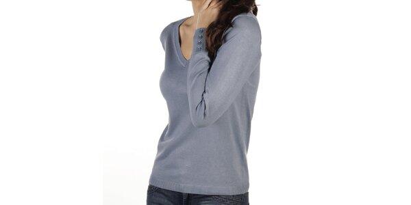 Dámsky modrý sveter New Caro