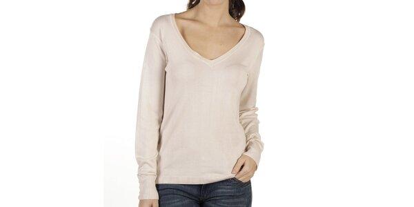 Dámsky smotanový sveter New Caro