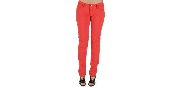 Dámske červené nohavice New Caro