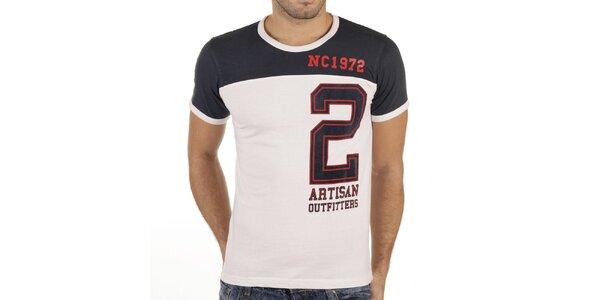 Pánske tričko s veľkou číslicou New Caro