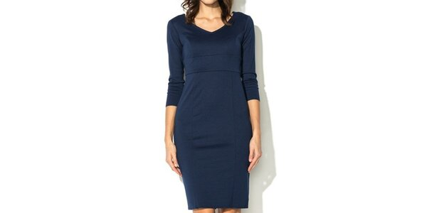 Dámske tmavo modré šaty Eccentrica