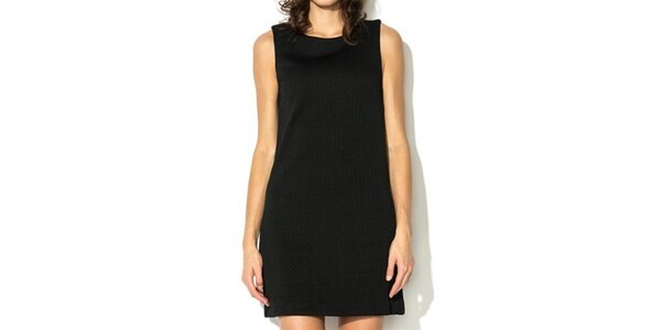 Dámske krátke čierne šaty Eccentrica