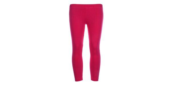Dámske legíny DKNY vo fuchsiovej farbe