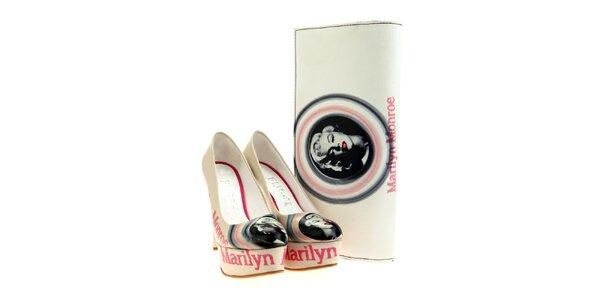 Dámske lodičky a listová kabelka Elite Goby - s Marilyn