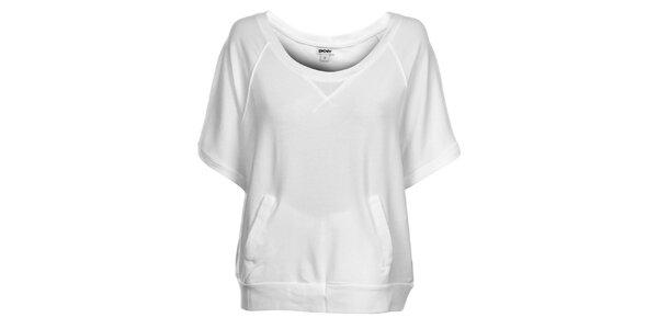 Dámske biele tričko DKNY