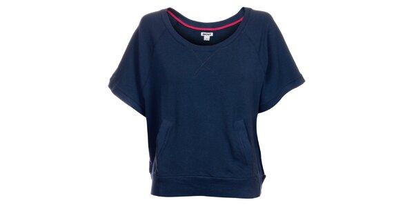 Dámske tričko DKNY v modrej farbe