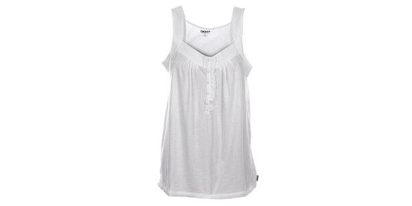 Dámska biela nočná košielka DKNY
