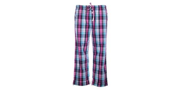 Dámske pyžamové nohavice DKNY s kockovaným vzorom