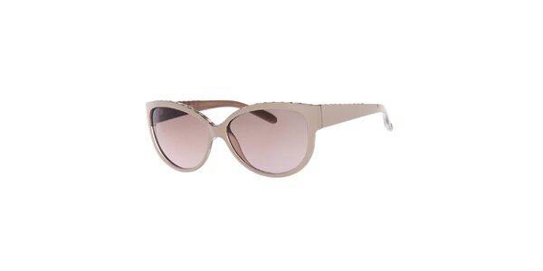Dámske slnečné okuliare s ružovými sklami Guess
