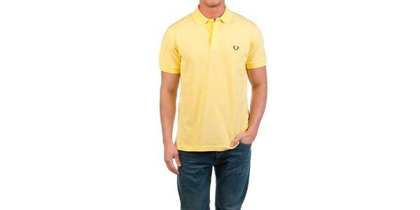 Pánske žlté polo tričko Fred Perry