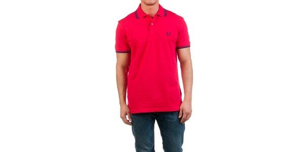 Pánske červené polo tričko Fred Perry