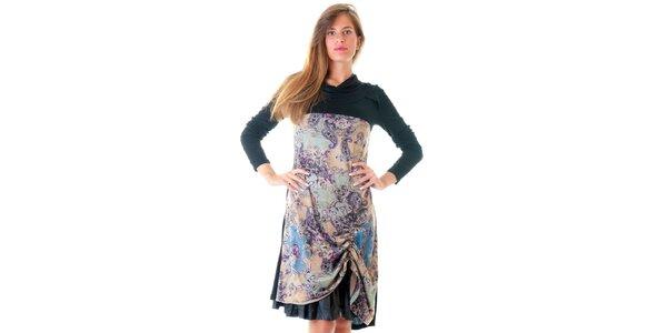 Dámske šaty s asymetrickou sukňou Goa Goa