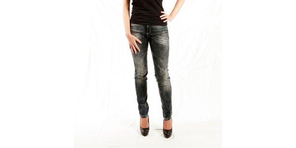Dámske šedé žíhané džínsy Just Cavalli