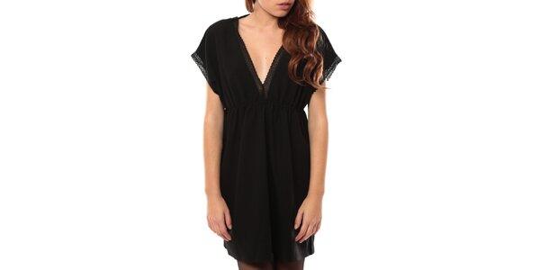 Dámske čierne šaty s čipkou My Little Poesy