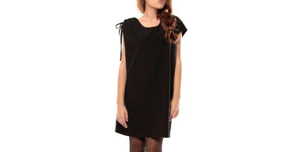 Dámske čierne krátke šaty My Little Poesy