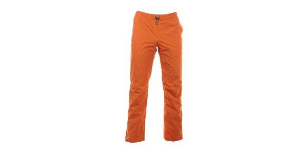 Pánske žiarivo oranžové nohavice do gumy Hannah