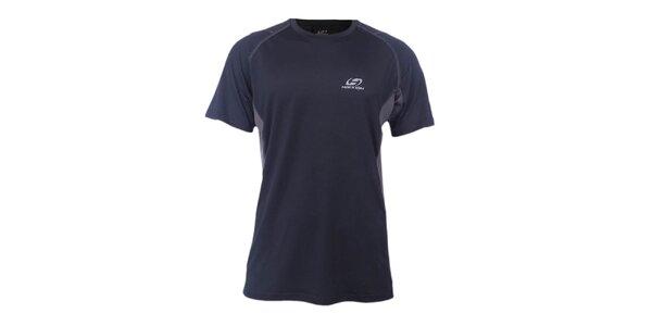 Pánske čierno-šedé športové tričko Hannah