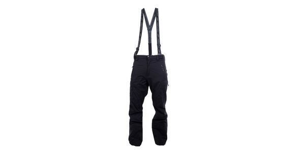 Pánske antracitové outdoorové nohavice Hannah