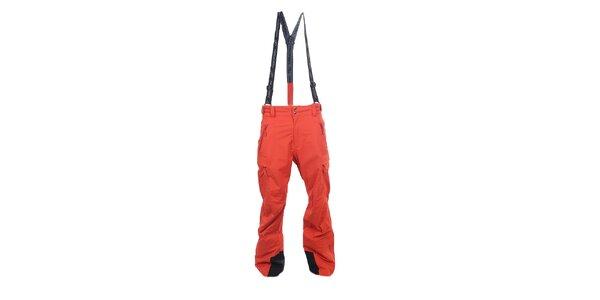 Pánske červené outdoorové nohavice Hannah