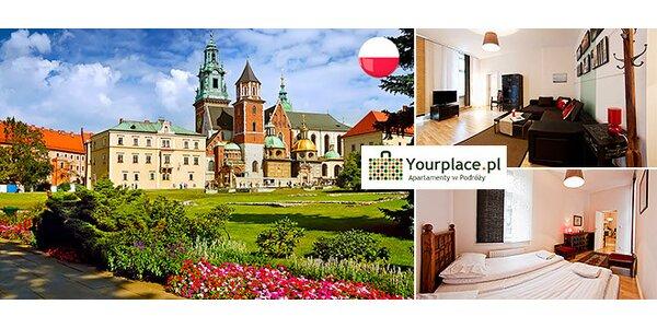 Luxusné apartmány v centre Krakova
