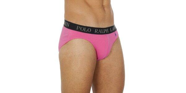 Pánske ružové slipy Ralph Lauren
