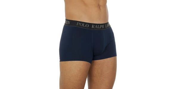 Pánske tmavé modré boxerky Ralph Lauren