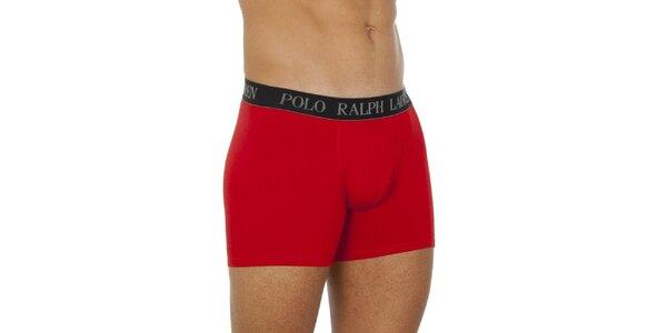 Pánske červené boxerky Ralph Lauren