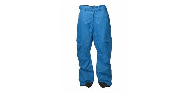 Pánske azúrovo modré snowboardové nohavice Fundango