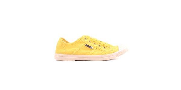 Dámske žlté tenisky Les tropeziennes