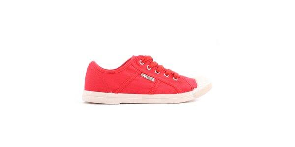Dámske červené tenisky Les tropeziennes