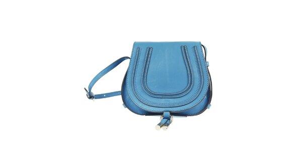 Dámska modrá kabelka cez rameno Belle & Bloom