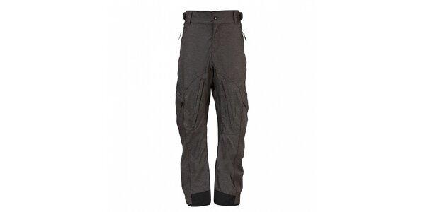 Pánske tmavo šedé snowboardové nohavice Fundango s membránou