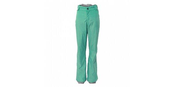Dámske mentolové športové nohavice Fundango s membránou
