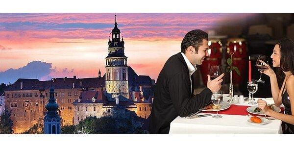 3-dňový pobyt pre 2 osoby v hoteli Bellevue**** v Českom Krumlove