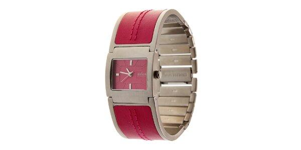 Dámske sýto ružové hodinky Axcent