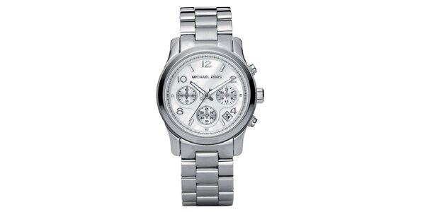 Dámske hodinky z ušľachtilej ocele s chronografom Michael Kors