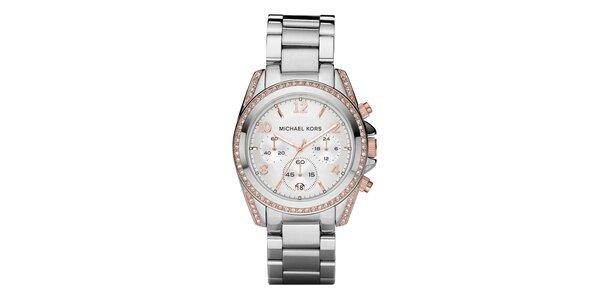 Dámske analógové hodinky s chronografom Michael Kors