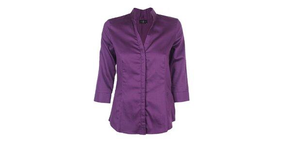 Dámska fialová košeľa Pietro Filipi