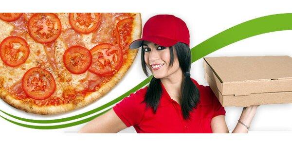 2 x PIZZA s možnosťou donášky