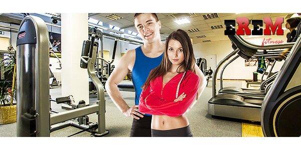 Vstupy a permanentka do EREM Fitness